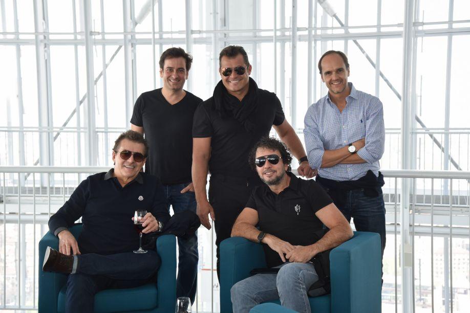 Paulo Bacchi, Dado Castello Branco, João Armentano e Roberto Migotto