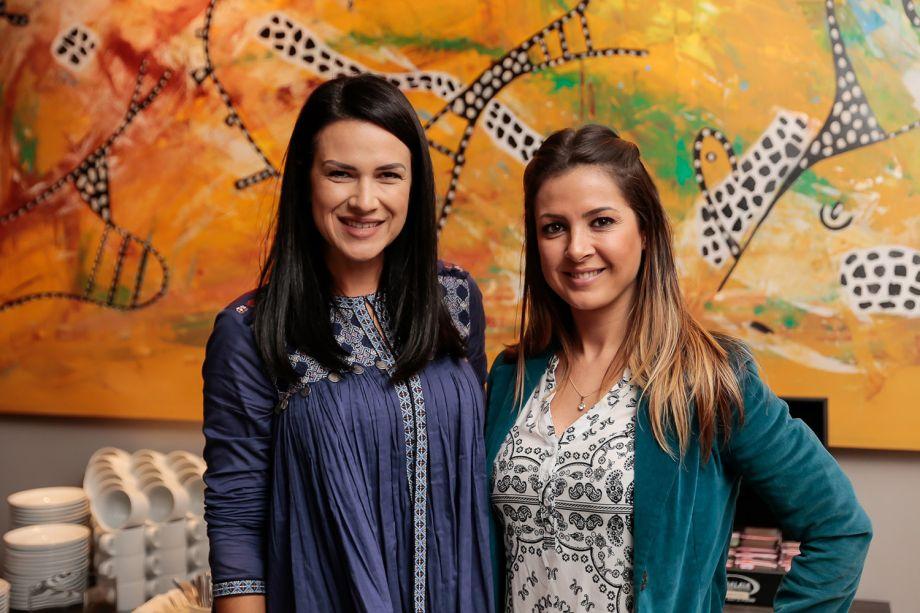Viviane dos Santos e Vanessa Aguiar