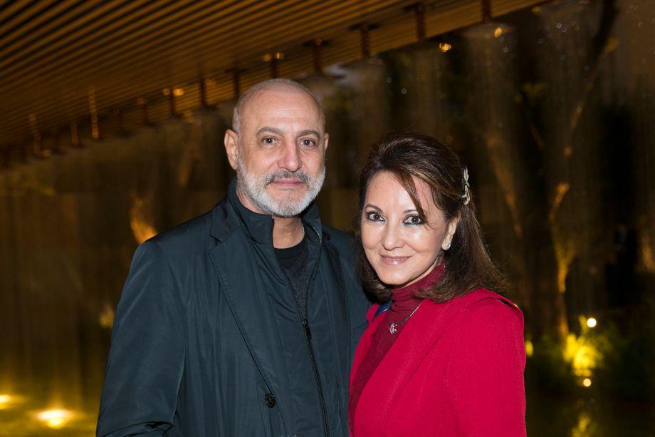 Mario Celso Bernardes e Evelyn Ido
