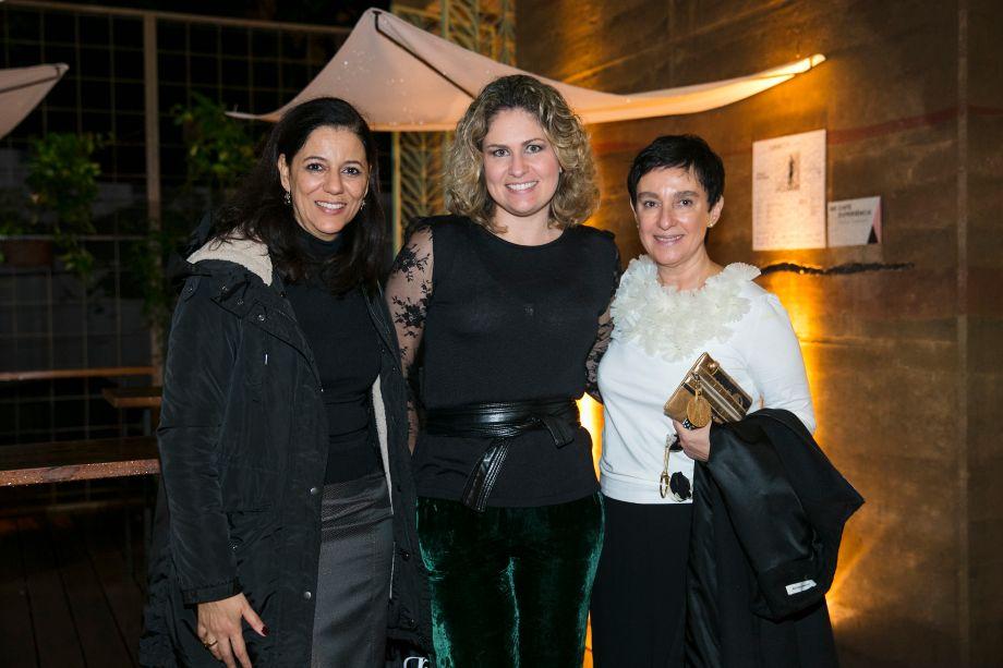 Cleide Gomes, Marilia Pellegrini e Lívia Pedreira