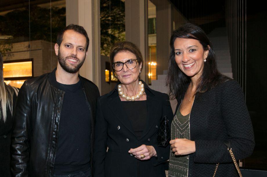 Thiago Breseghello, Fabíola Meira e Cristina Ferraz