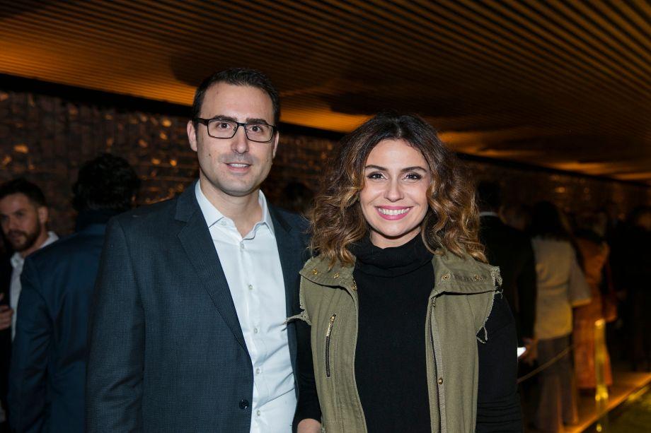 Bruno Antonaccio e Giovanna Antonelli