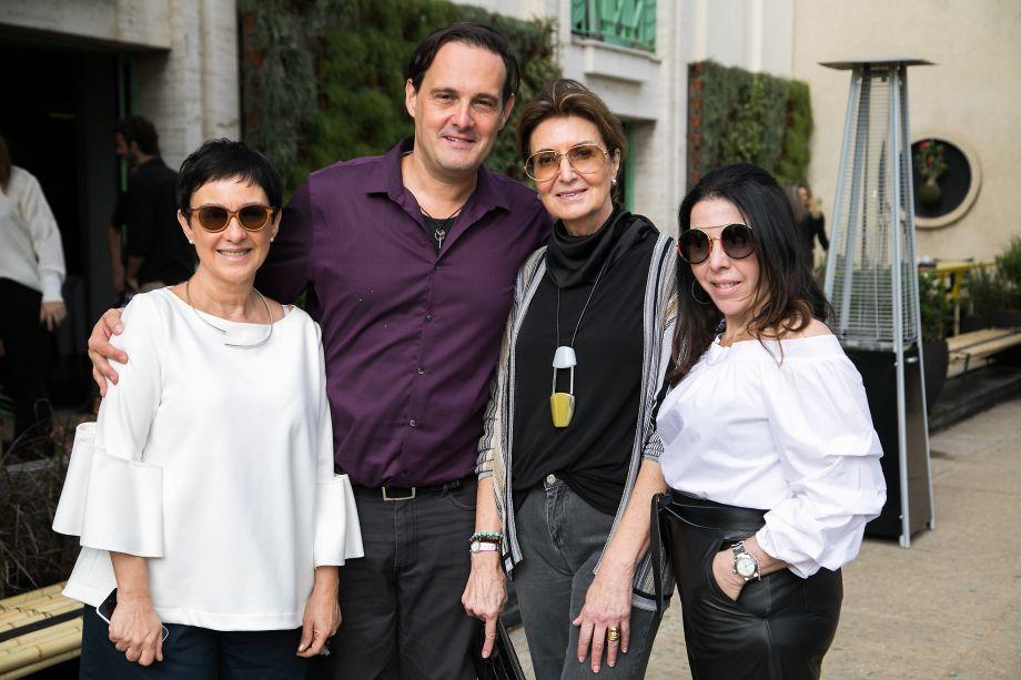 Livia Pedreira, Marcelo Lima, Cris Ferraz e Paola Ribeiro