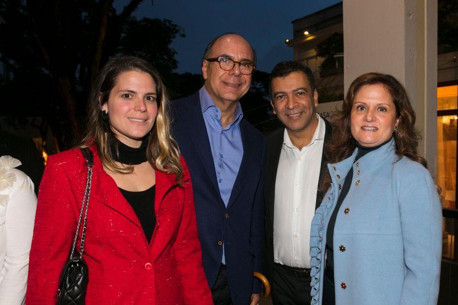 Paloma Danemberg, Arnaldo Danemberg, Pedro Ariel e Katia Danemberg