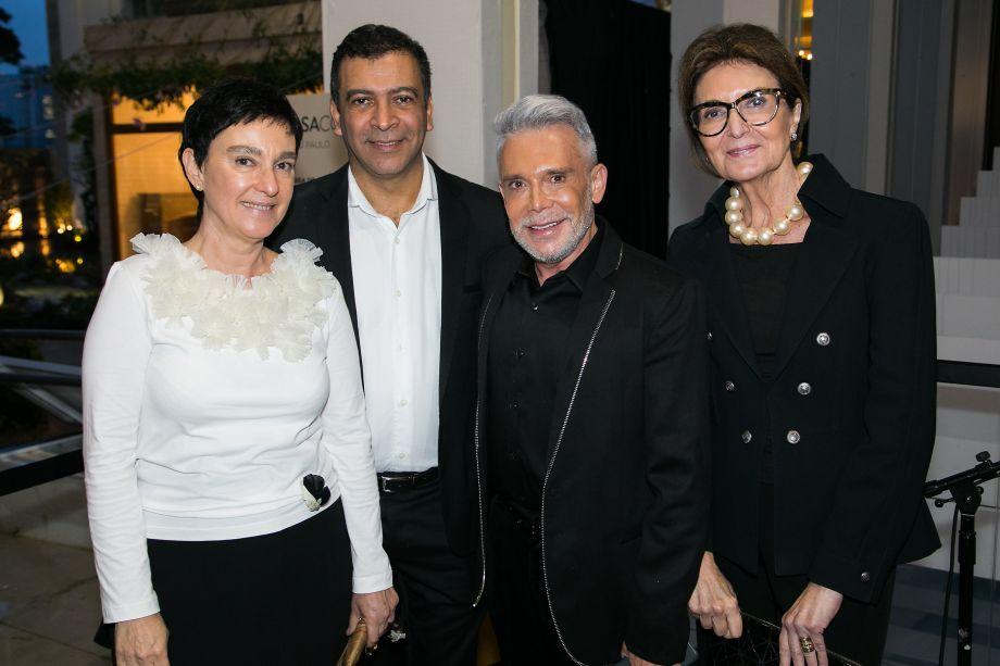 Lívia Pedreira, Pedro Ariel, Leo Shehtman e Cris Ferraz
