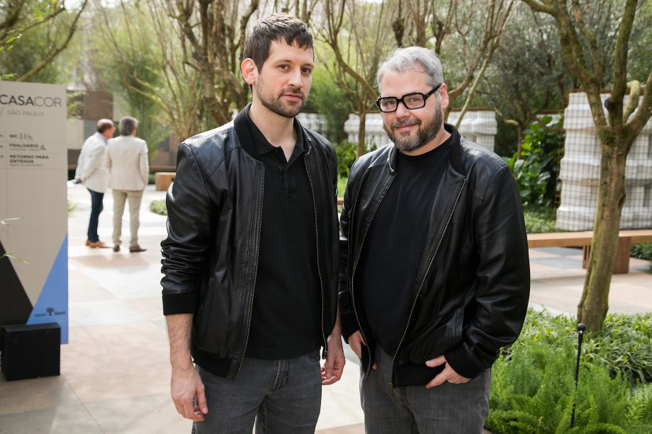 André Rodrigues e Alex Colontonio