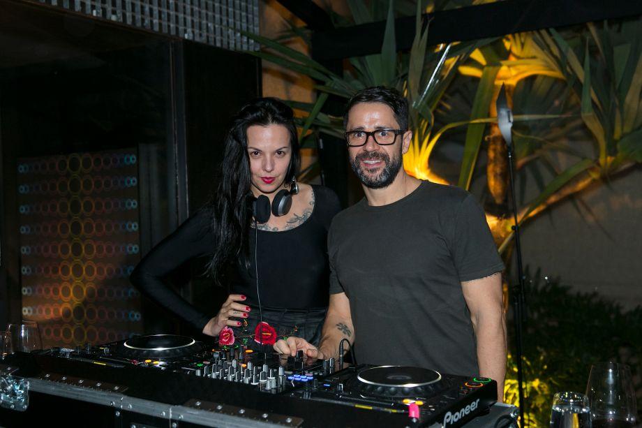 Adriana Recchi e Pil Marques