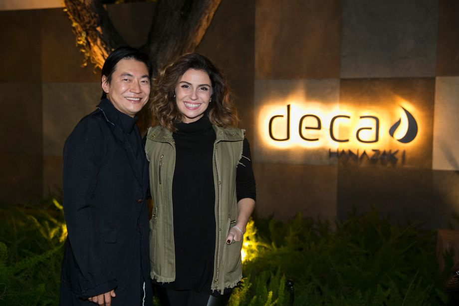 Alex Hanazaki e Giovanna Antonelli