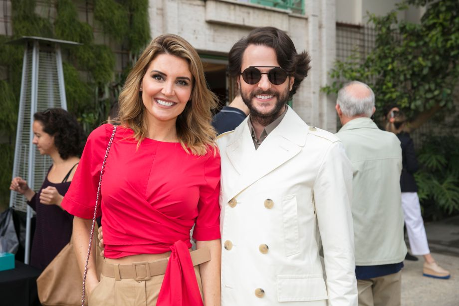 Gabriela Rodrigues e Michel Safatle