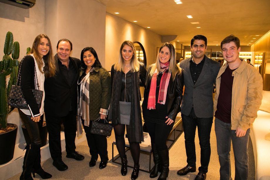 Dunelli, Fernanda Dunelli, Patricia Hagobian, Fernanda Hagobian e João Pedro