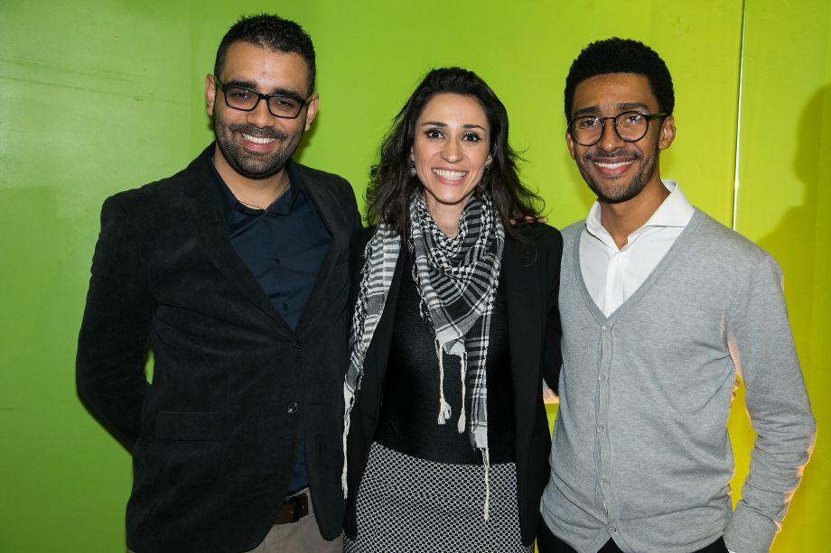 Alexandre Menezes, Graziela De Caroli e Victor Santo