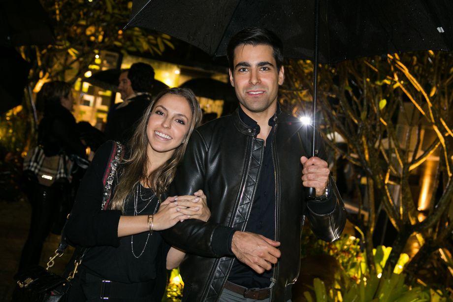 Barbara Gomes e Alexandre Dal Fabbro