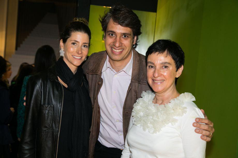 Juliana Menezes, Luciano Montenegro e Lívia Pedreira