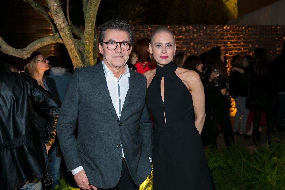 Roberto Migotto e Monica Ferro