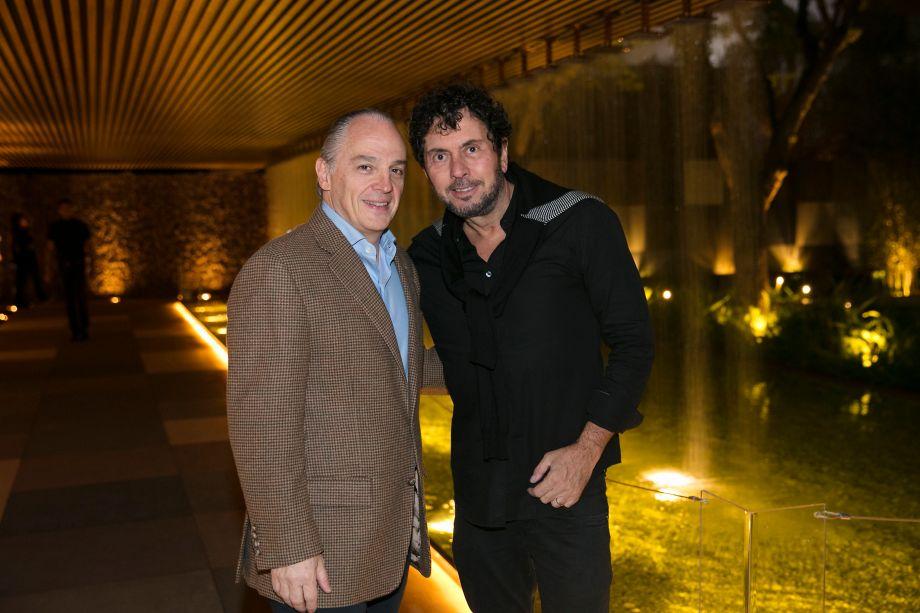 Raul Penteado e João Armentano