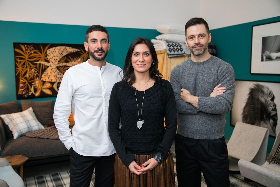 Fabio Mota, Lais Delbianco e Mauricio Arruda