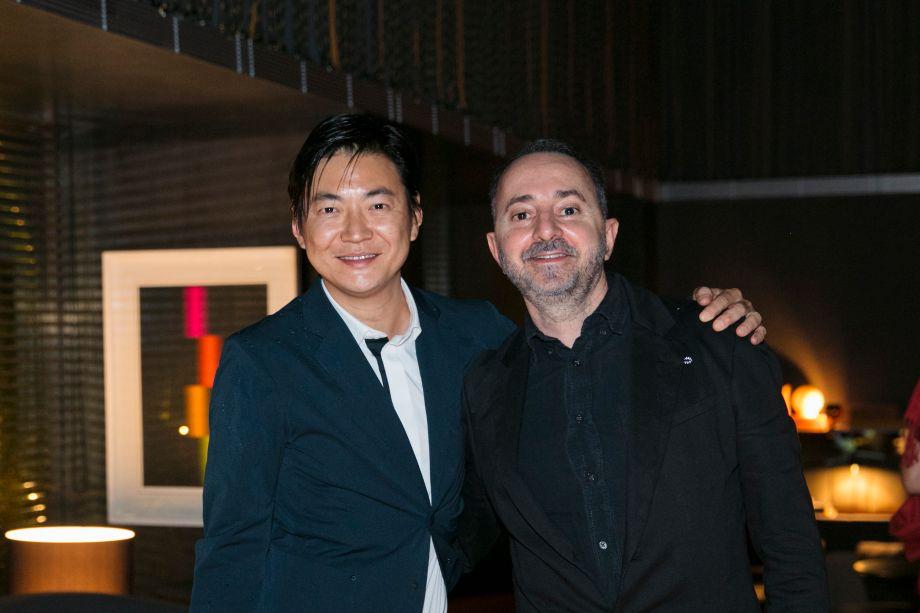 Aex Hanazaki e Marcos Caracho
