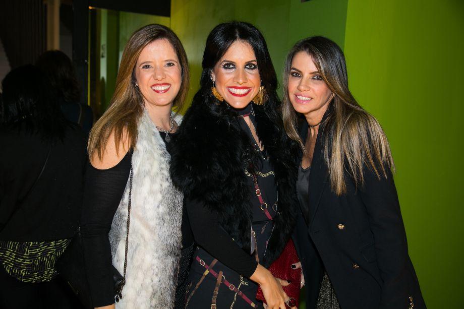 Ana Paula Zagallo, Maithia Guedes e Sonia Andrade