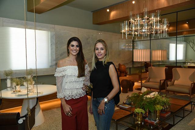 Andreia Spessatto e Naira Sá