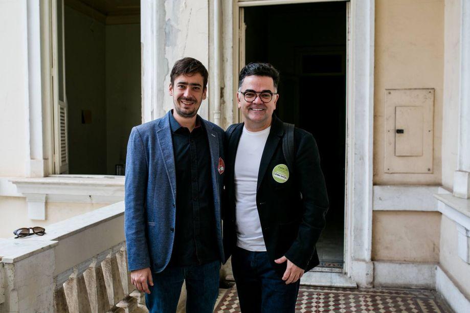 Bernardo Ferreira da Sumisura com o arquiteto Cassio Gontijo
