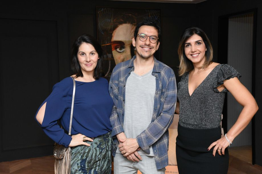 Mariana Guimarães, Murilo Frazão e Anna Paula Melo
