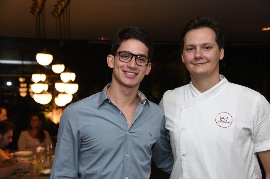 Domingos Àvila Neto e Ian Baiocchi
