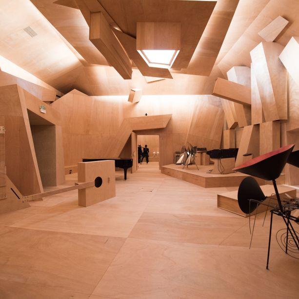 <span>Studio Venezia, por Xavier Pavilhão Francês, na Giardini</span>