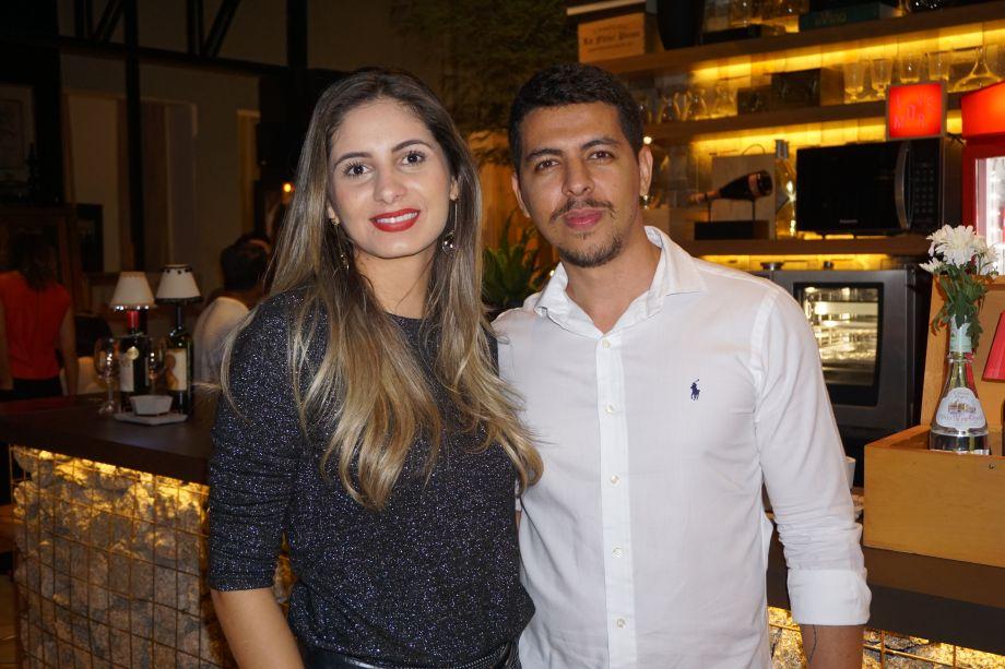 Camila Rezende e Clecio Lourenço