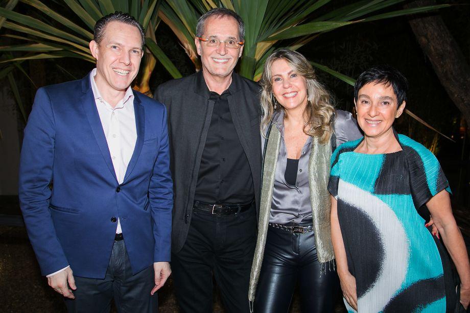 Fernando Nogueira, Walter Longo, Cristina Partele Lívia Pedreira