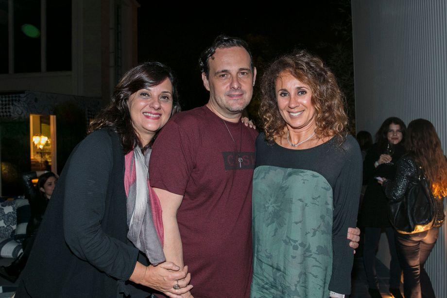Silvia Peskir, Marcelo Lima e Monica Barbosa