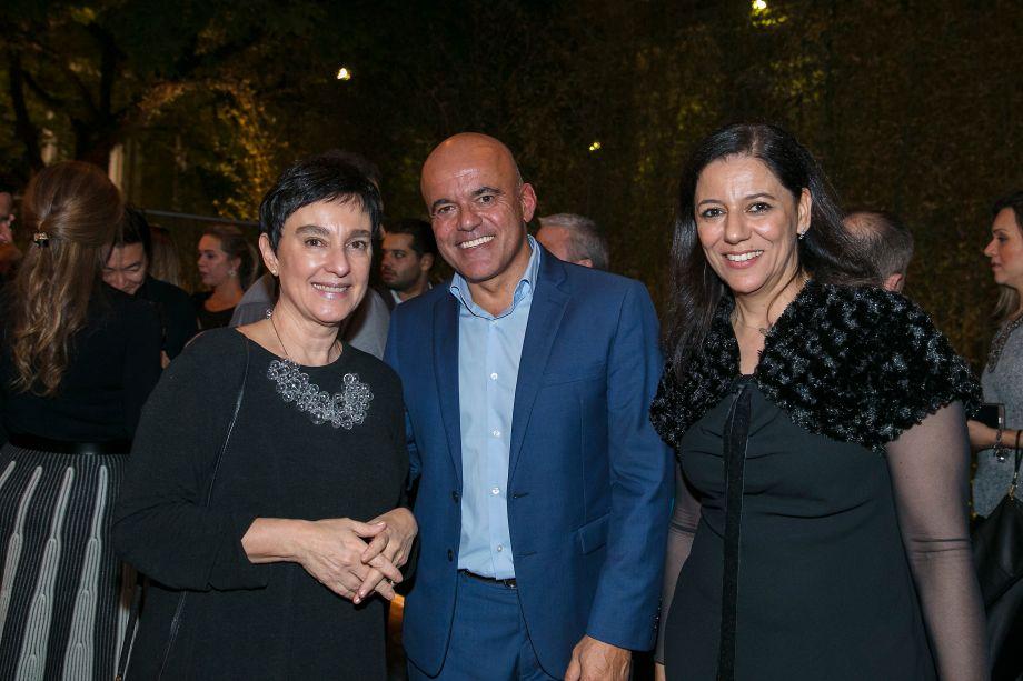 Livia Pedreira, Edson Gaidzinski E Cleide Gomes