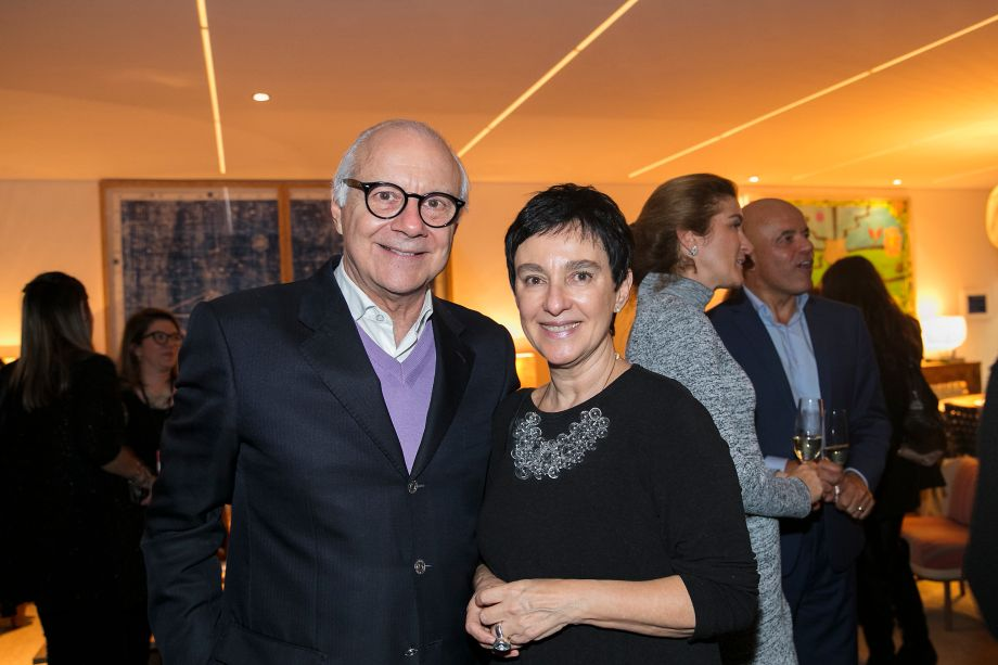 Antonio Carlos Kieling e Livia Pedreira