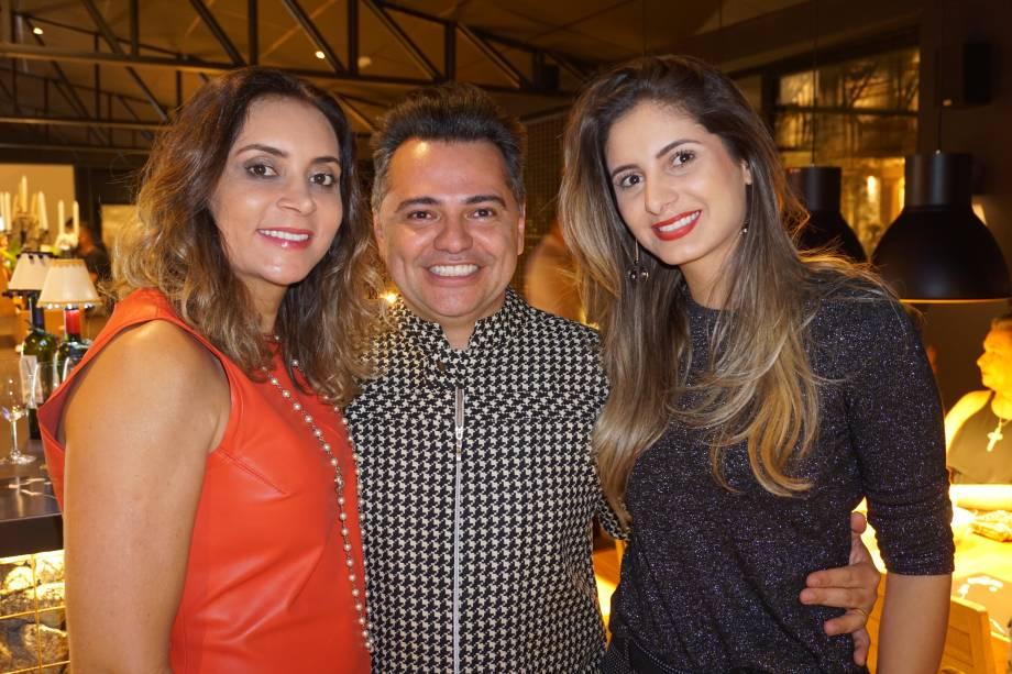Doriselma Mariotto, Alexandre Milhomem e Camila Rezende