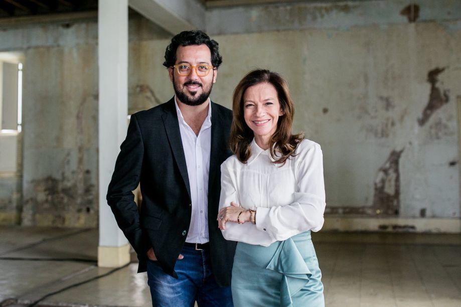 Eduardo Faleiro e Juliana Grillo, diretores da mostra mineira