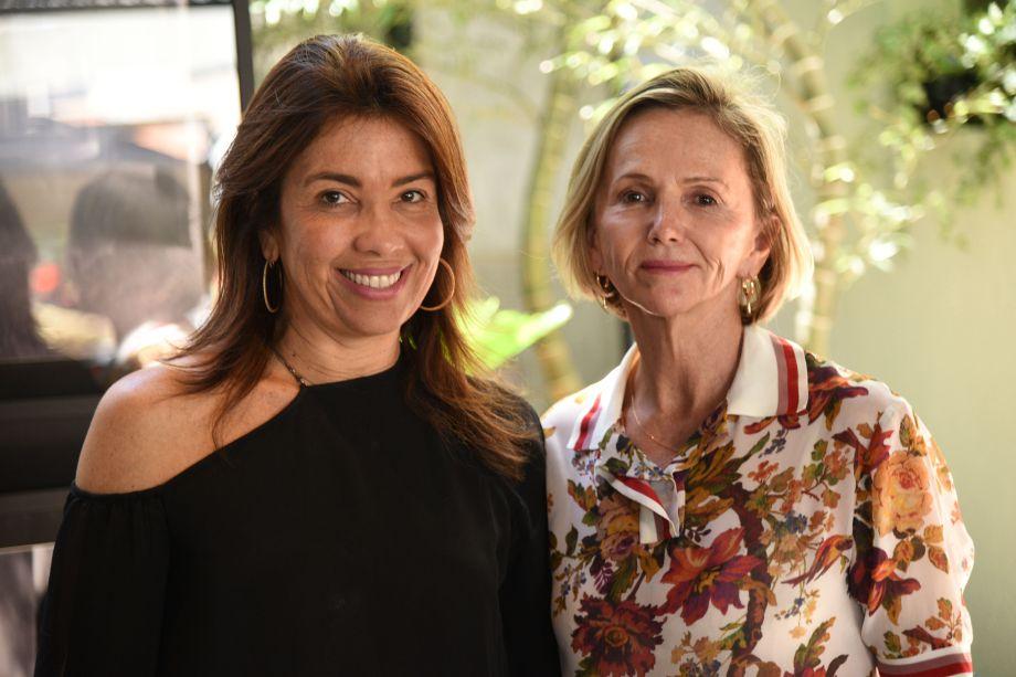 Eliane Martins e Sheila de Podestá