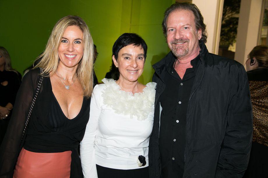 Renata Sampaio Vidal, Lívia Pedreira e Giancarlo Civita