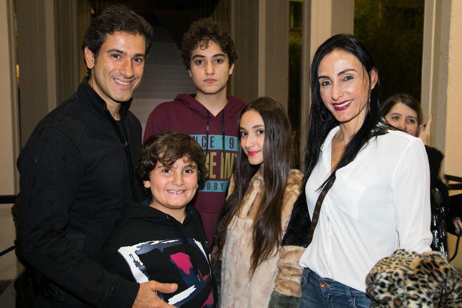 Fabio Berbari, Daniela Berbari e filhos