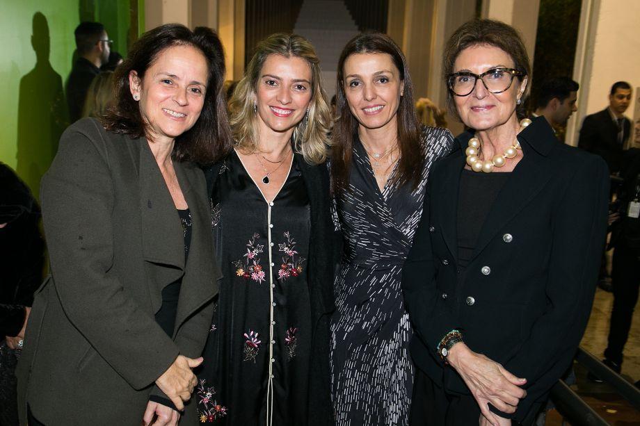 Patricia Quentel, Flavia Pardini, Cris Bava e Cris Ferraz