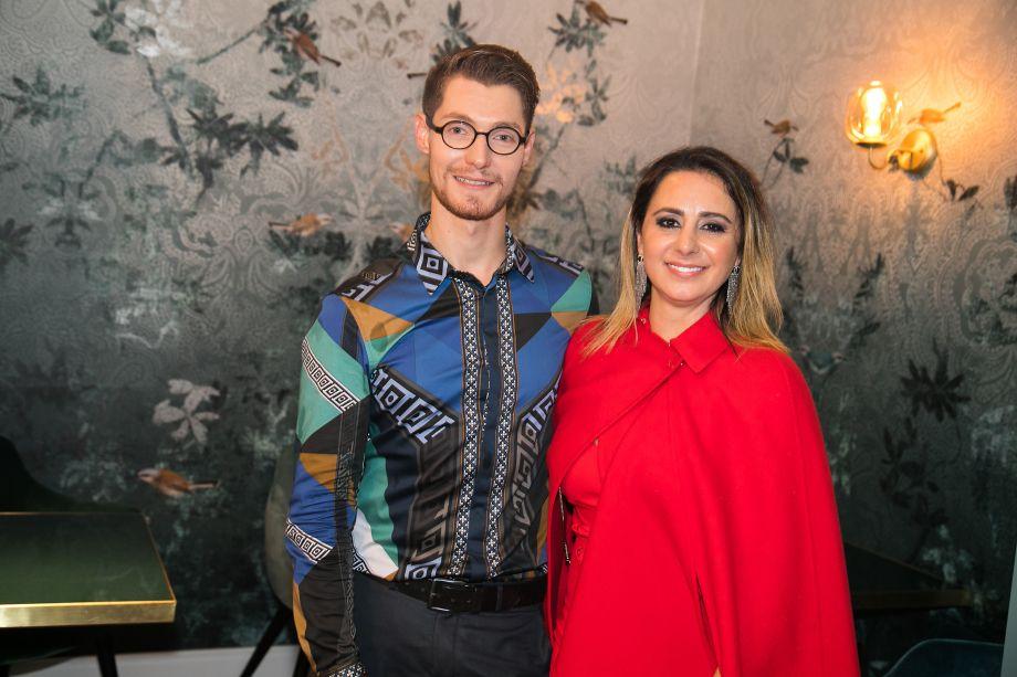 Guilherme Longo e Patrizia Genovese