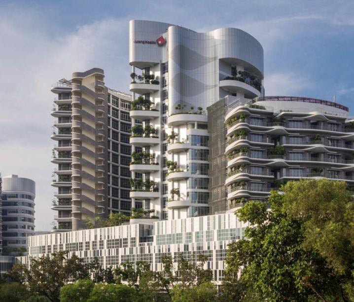 Hospital Ng Teng Fong e Hospital Comunitário Jurong; Singapura