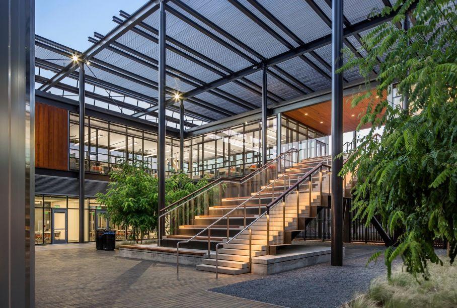 Instalação de Energia Central da Universidade de Stanford, California