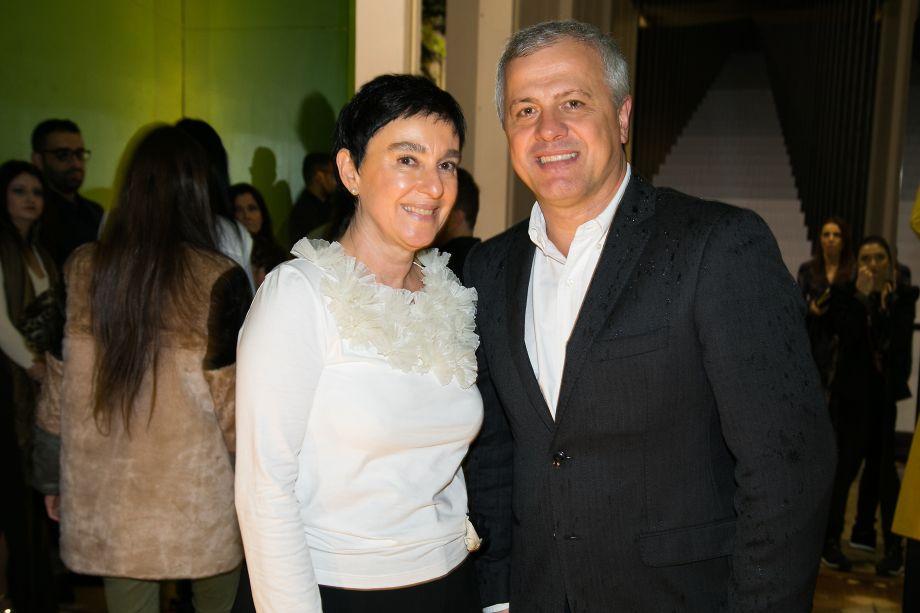 Livia Pedreira e João Saccaro