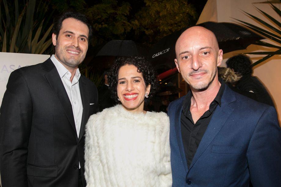 Maicon Antoniolli, Sandra Picciotto e Luis Ribeiro