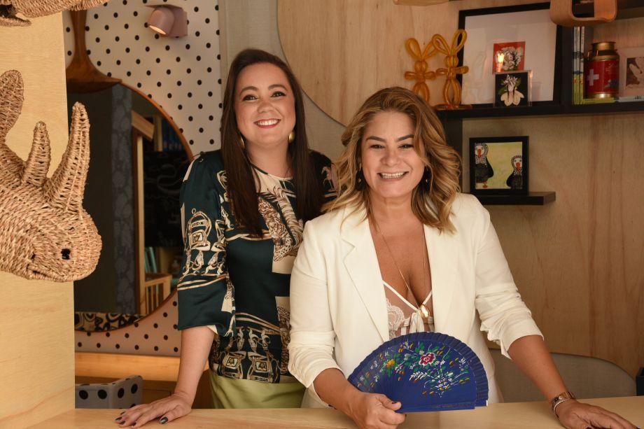 Mariana Carvalho e Andreia Rocha Lima