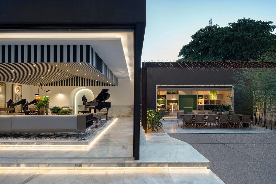 A Casa do Boi, de Leo Romano para a CASACOR Goiás 2017.