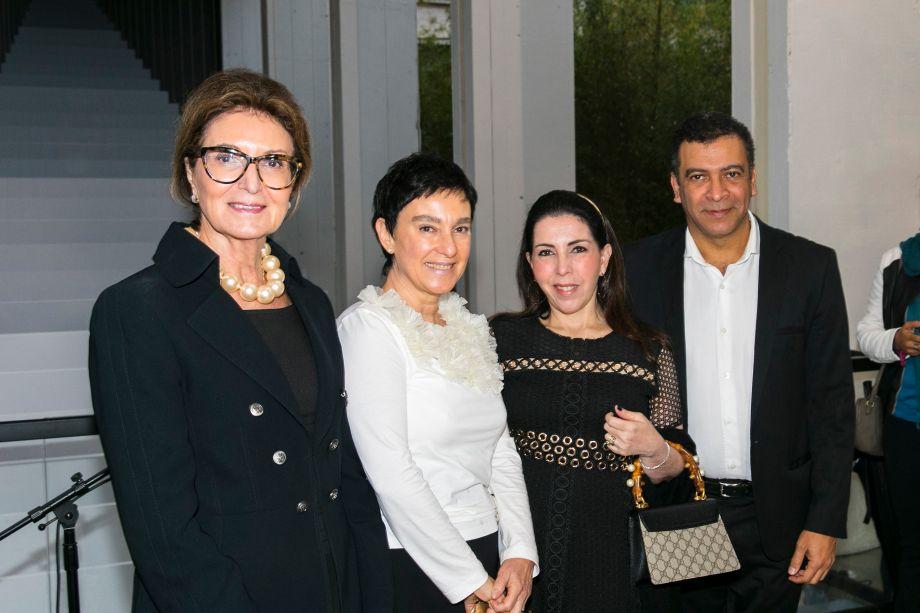 Cris Ferraz, Lívia Pedreira, Paola Ribeiro e Pedro Ariel Santana