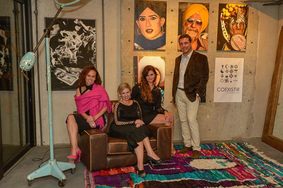Paula Costa, Elen Gramkow, Ana Lins e Rodrigo Fontana