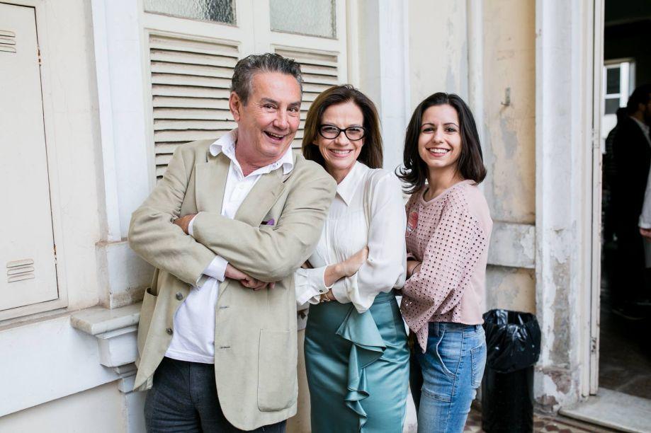 Paulo Navarro, Juliana Grillo e Mariana Mediolli