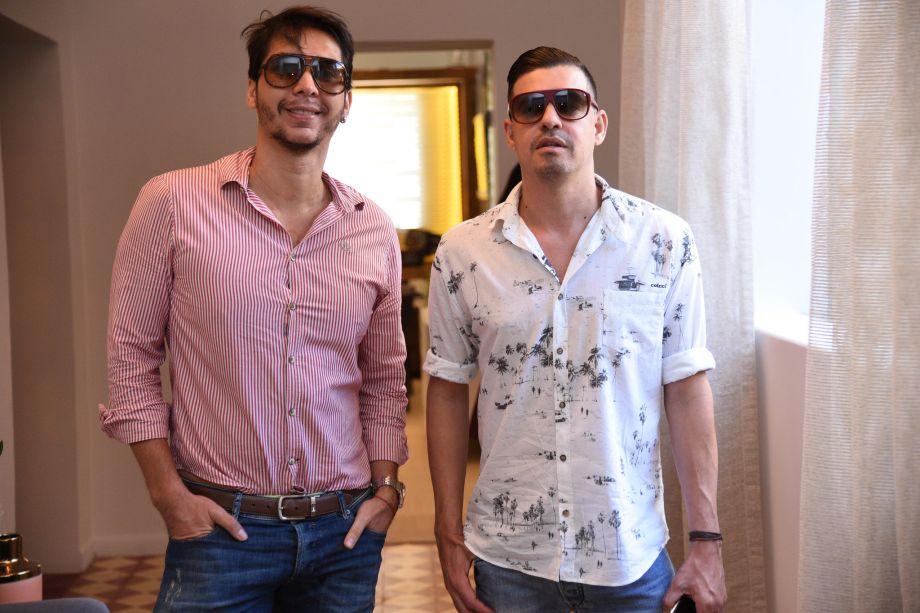 Rafael Garcia e Marcio Garcia