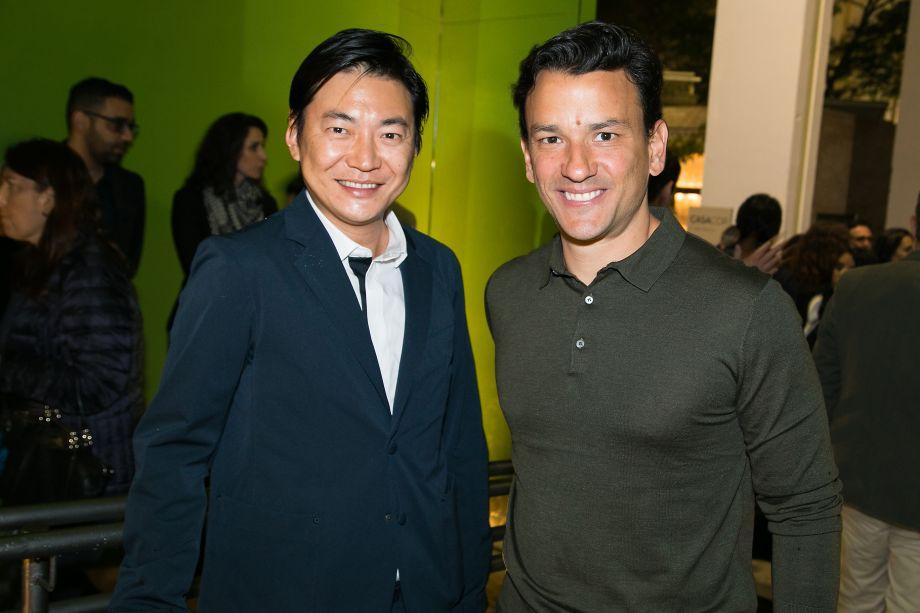 Alex Hanazaki e Yuri Seródio